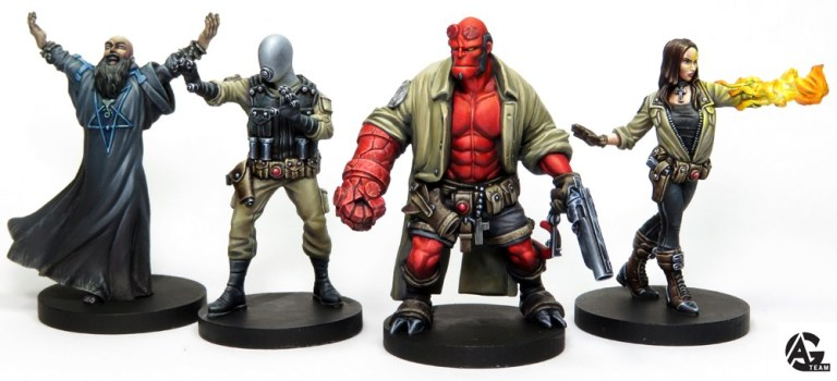 Hellboy The Board Game BPRD mantic