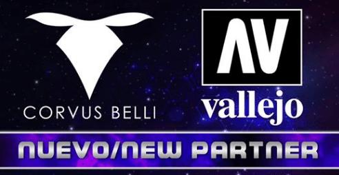 Alianza Corvus Belli y Acrílicos Vallejo