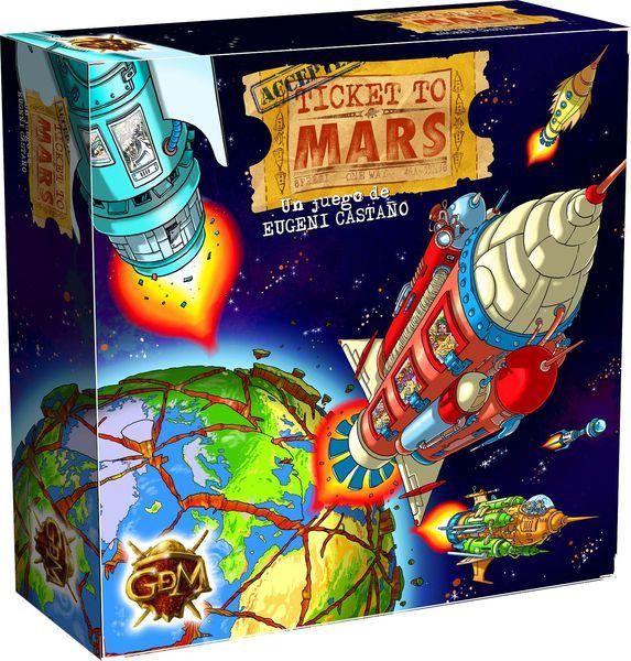 Ticket to Mars, juego de mesa (reseña)