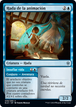 MTG Throne of Eldraine Hada de la animación