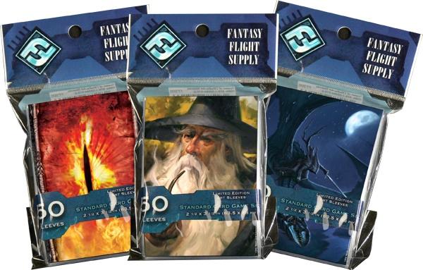 Micas/fundas para cartas de Fantasy Flight Games con motivos de El Señor de los Anillos