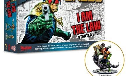 Judge Dredd Juego de miniaturas de Warlord Games Pre-Pedidos [+Precios]