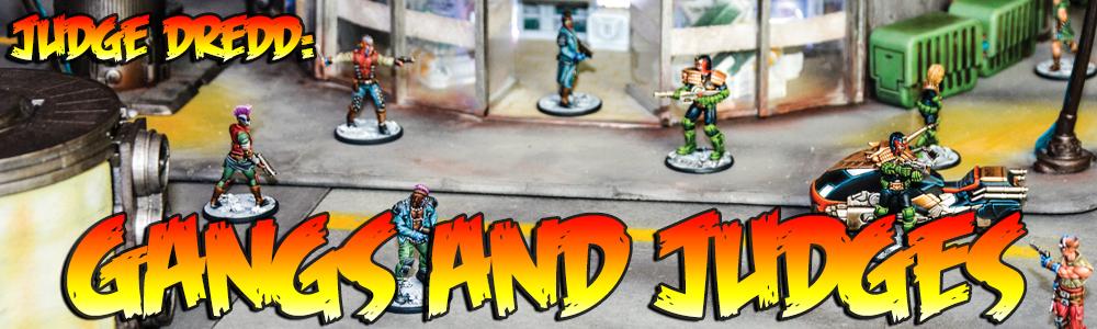 Juez Dredd el juego de miniaturas: pandillas y jueces