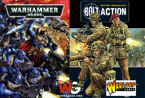 Bolt Action para jugadores de Warhammer 40K