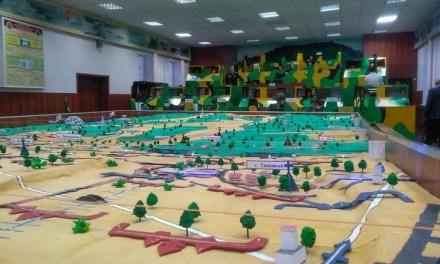 Rusia entrena con Wargames en su Complejo Multimedia para Entrenamiento de Armas Combinadas