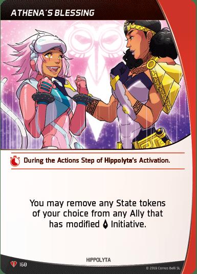 Hippolyta Athenas Blessing