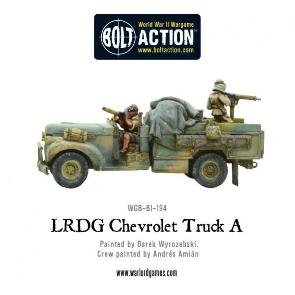 LRDG Chevrolet Truck A