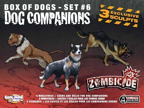 Dog Companions Zombicide giveaway