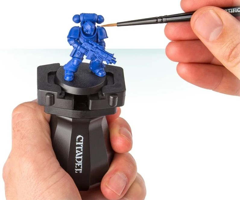 miniature painting handles/holders