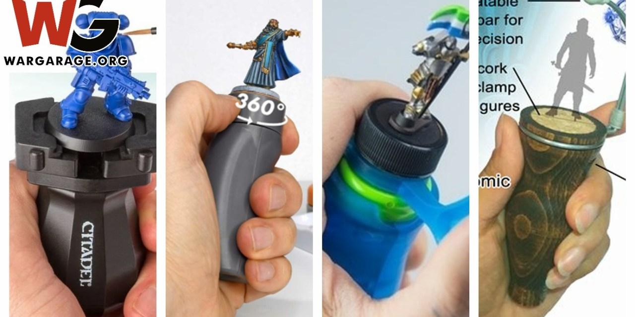 The Best miniature painting handles/holders (Top 4 )