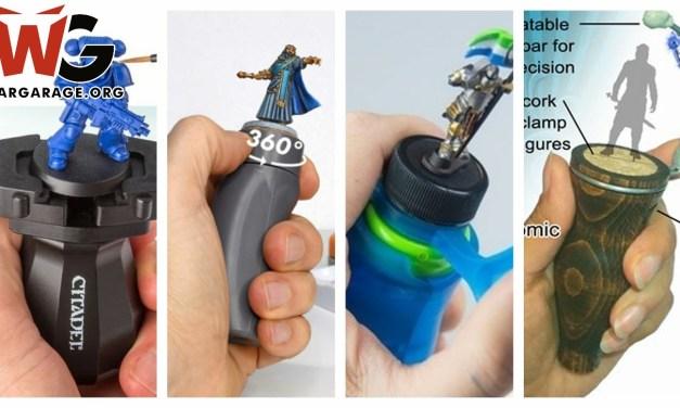Mejores Mangos o Soportes para pintar miniaturas (Top Miniature Holders/handles)