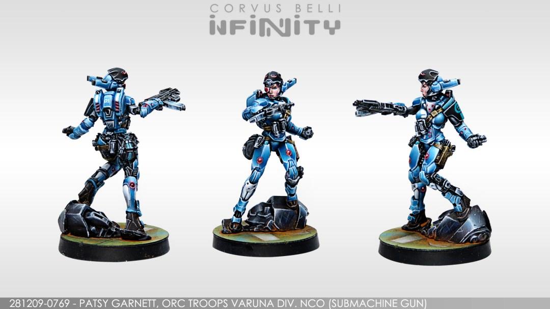 Infinity, Panocenia, Varuna Patsy Garnet