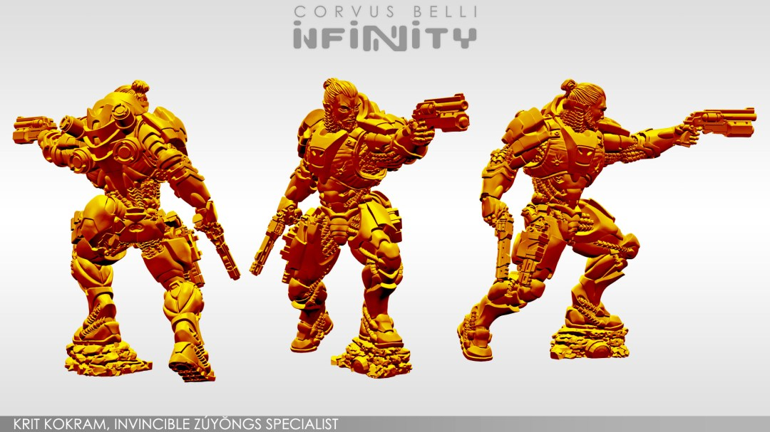 Infinity, Yu Jing Krit Kokram