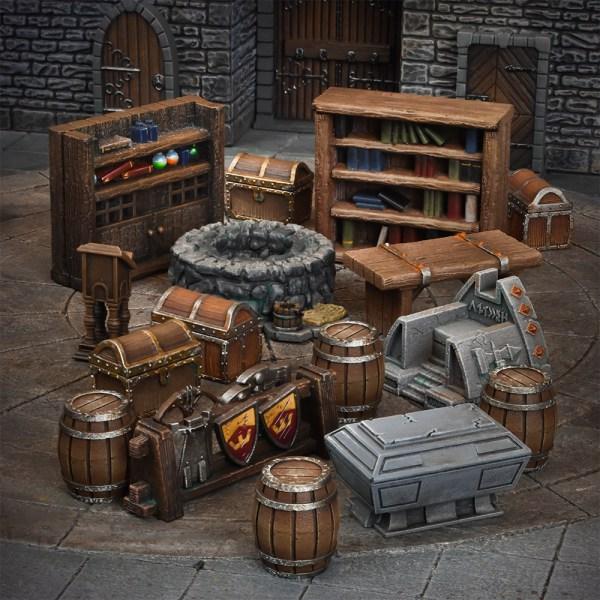 TerrainCrate Esenciales de Calabozos (Dungeon Essentials)
