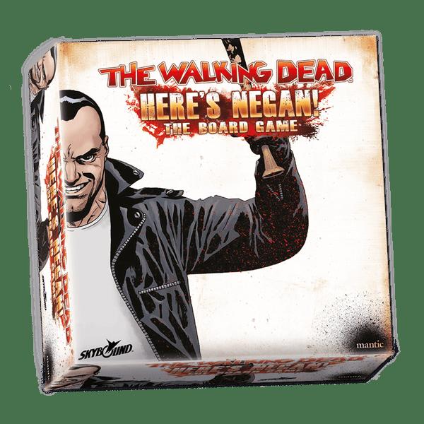 The Walking Dead Here's Negan el juego de mesa de miniaturas