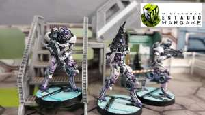 Devas Functionary painted by our Friends of Miniatures Wargames Stadium