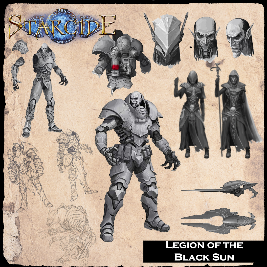 Starcide, Legion of the Black Sun, la facción de vampiros y nigromantes