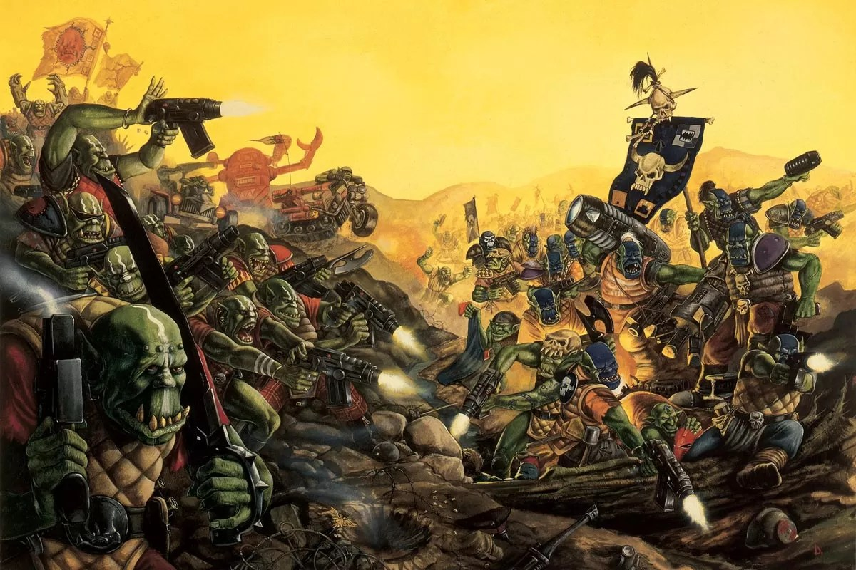 A classic piece of Ork artwork.