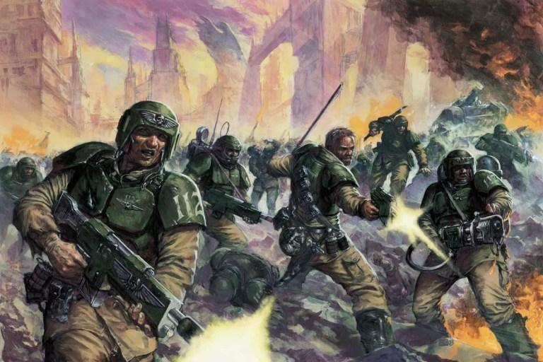 Cadian Infantry