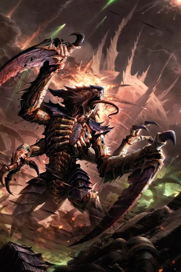 Tyranids Warhammer Art