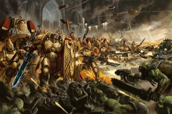 Brotherhood Of Demigods Warhammer Art