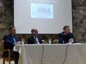 Advocacy Panelists Adam Cooper of the ACR - Dr Ted Conklin of Premera - and Jeb Shepard of WSMA