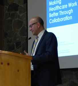 Dr Phil Colmenares of Premera speaks collaboration between providers and insurance companies