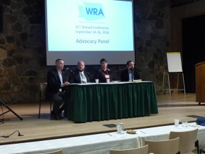 Several advocacy groups were represented on our advocacy panel at the 2018 WRA annual meeting.