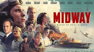 "Movie art for 2019 film ""Midway."""