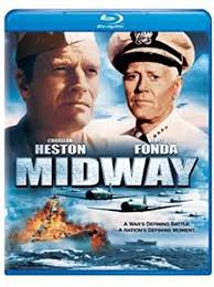 """Movie art for 1976 film """"Midway."""""""