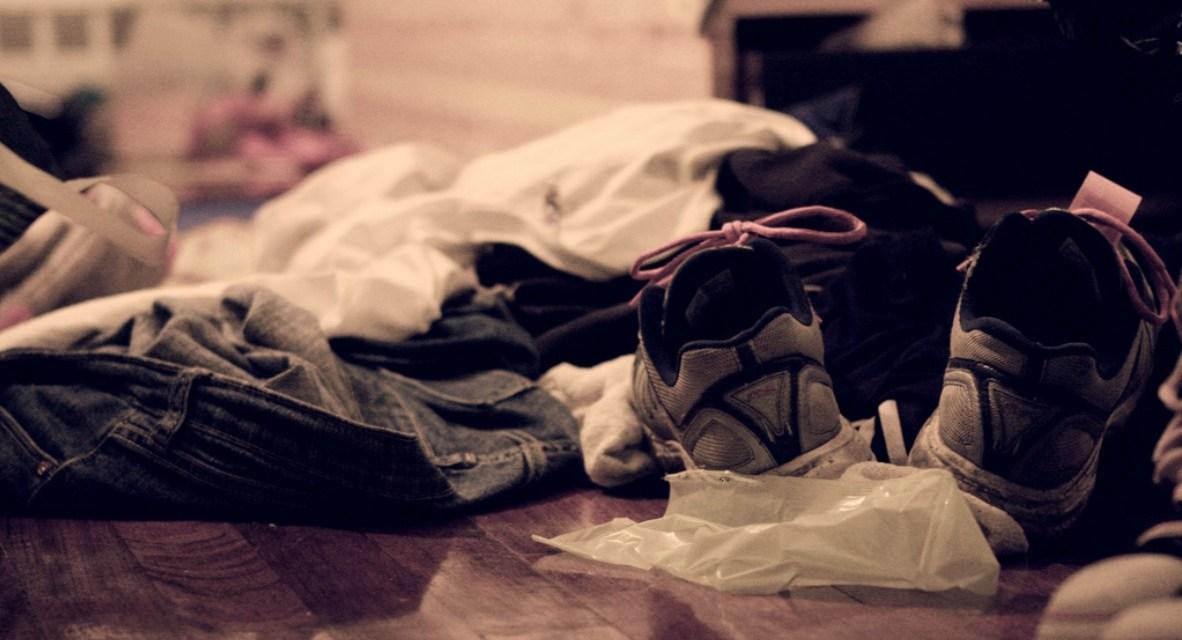 A primer for men: pick up your clothes…