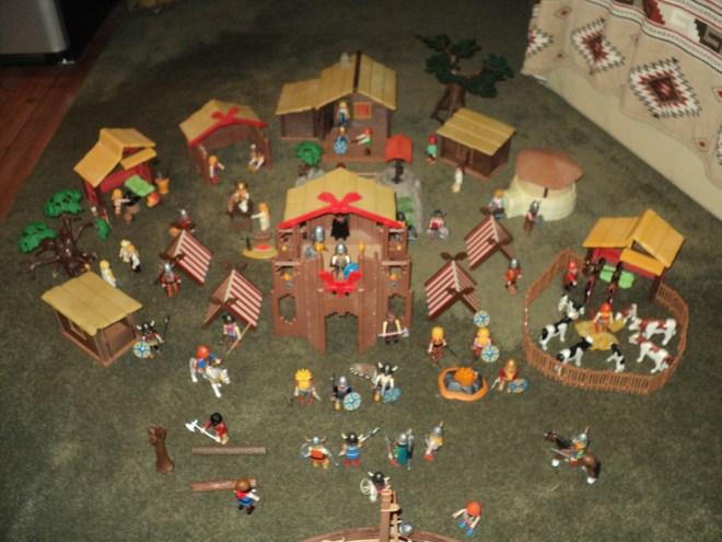 Playmobil Viking Village1