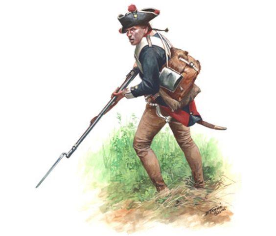 Musketeer, Hessian Regiment Von Bose, Yorktown 1781
