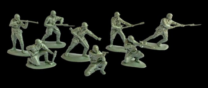 Mars WWII Japanese Paratroopers