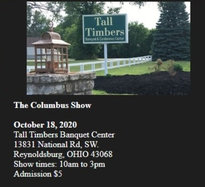 Columbus Toy Soldier Show 2020