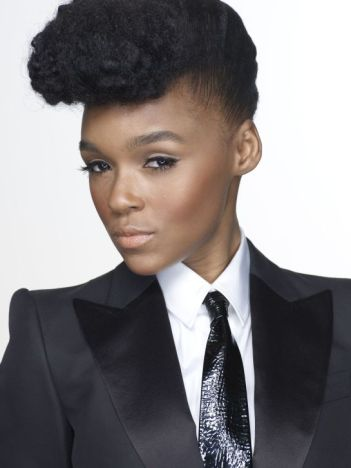 Janelle Monáe Robinson known professionally as Janelle Monáe is an American musical recording artist and actress, signed to Bad Boy Records, Wondaland Arts Society, and Atlantic Records.