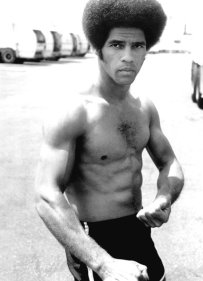 Jim Kelly was an American athlete, actor, and martial artist who rose to fame during the Blaxploitation film era of the 1970s. Kelly is perhaps best known for his role as Williams in the 1973 martial arts action film Enter the Dragon.