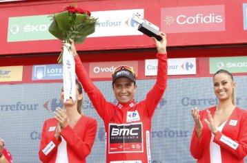 Atapuma, cuarto líder de la Vuelta en cuatro días