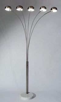 5 bulb floor lamp