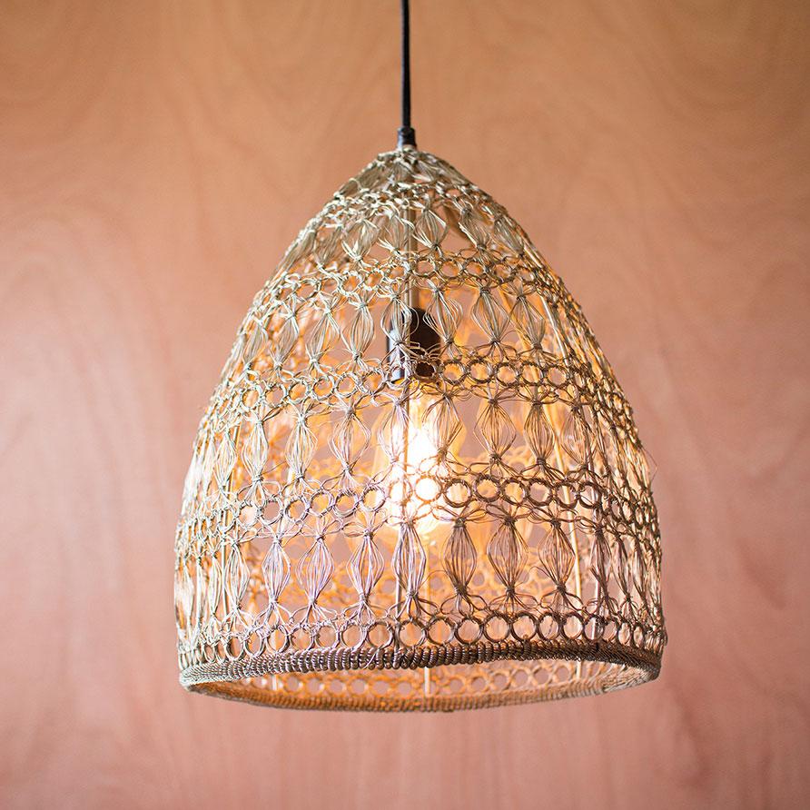 Boho Pendant Light