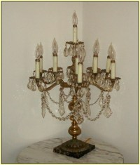 Crystal chandelier table lamps - 15 ways to make any home ...