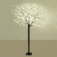 Floor tree lamp