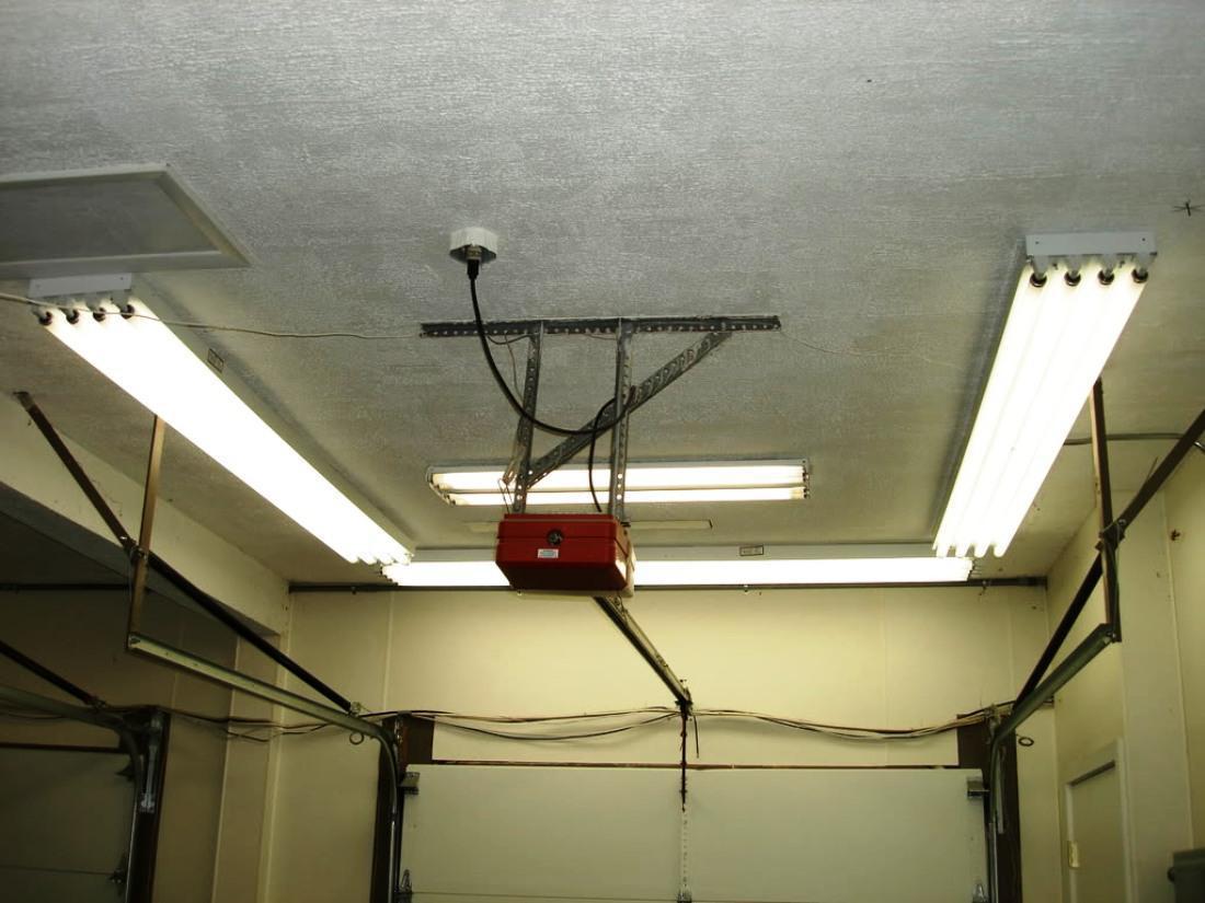 Led Light Fixtures Garage