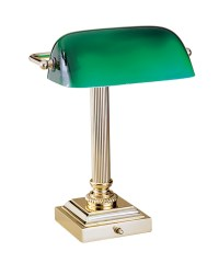 Green glass desk lamp - 10 secret ingredients to having an ...