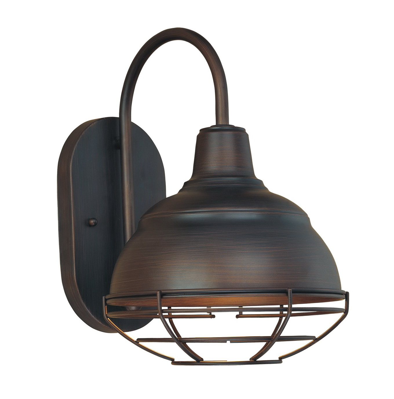 Industrial outdoor wall light