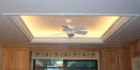 Lighted tray ceiling - enhances beauty in your home ...