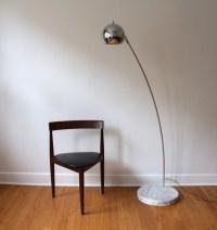 mid century modern tension floor lamp