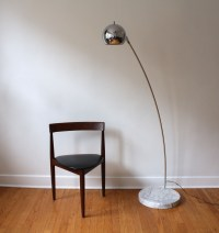 mid century modern tension floor lamp