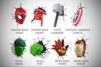 Avengers innovative lighting - 15 exciting Avengers Wall ...