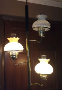 Vintage tension pole lamp - 16 bonuses to the beauty of ...
